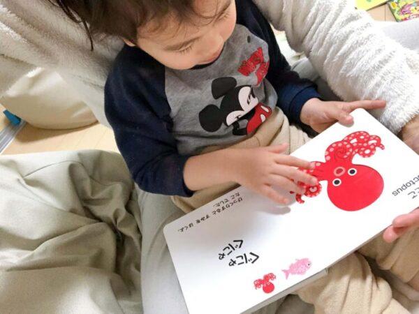 【レビュー】1歳の誕生日におすすめ!英語も学べる破れにくいボードブック絵本