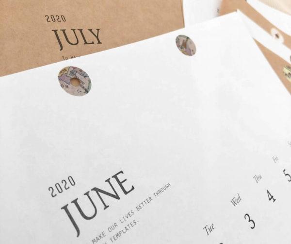 オシャレなカレンダーを無料で手作りする方法♡class,design.